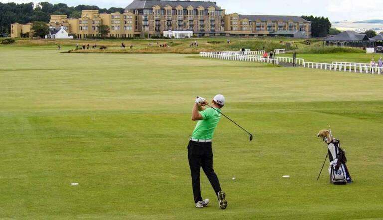 Todos pendientes del Open Británico de Golf