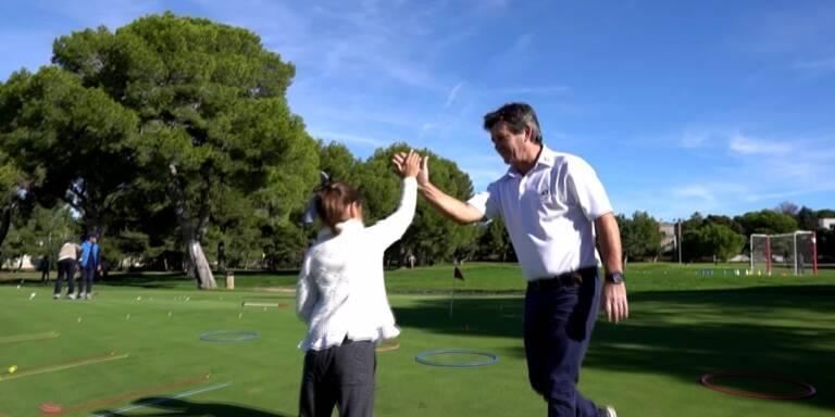 Hay futuro más de 300 jóvenes en la Escuela de Golf del Club Escorpión
